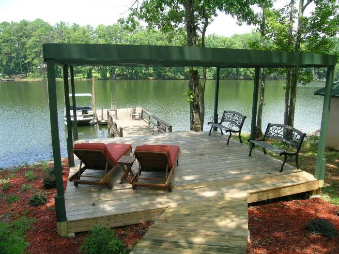 Log Cabin On Lake Murray Event Homes